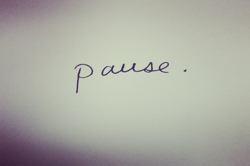 the gift of pause how is the answer
